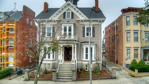 Historic Boston home #ridecolorfully