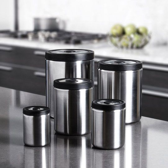 win this steel presstop canister set from oxo holiday