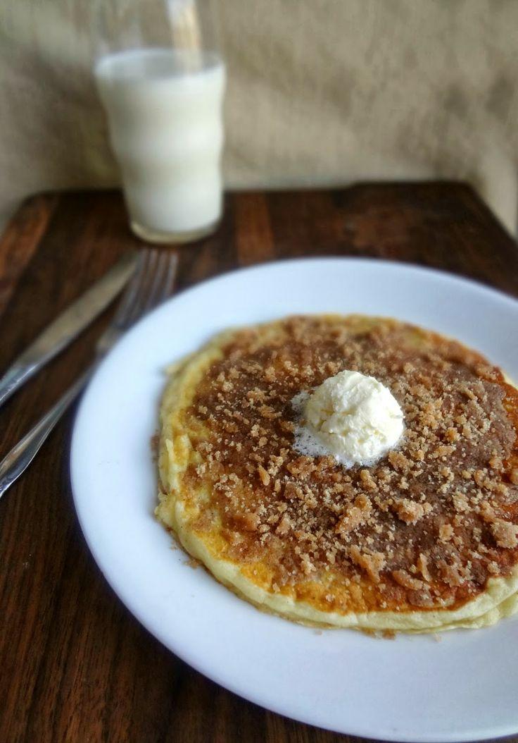 Actress: Cinnamon Streusel Pancakes {Restaurant quality pancakes ...