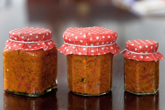 Ajvar: The Pepper Caviar, poblanos and eggplant