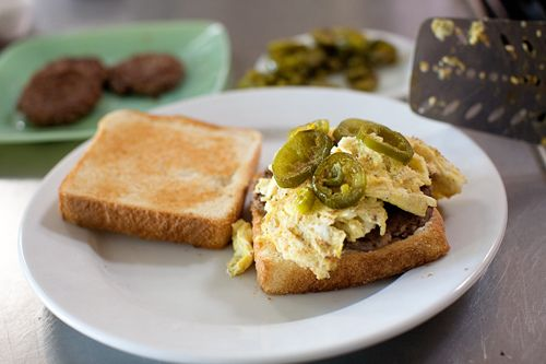 Pioneer Woman Cowboy Breakfast Sandwiches - Father's Day Breakfast!
