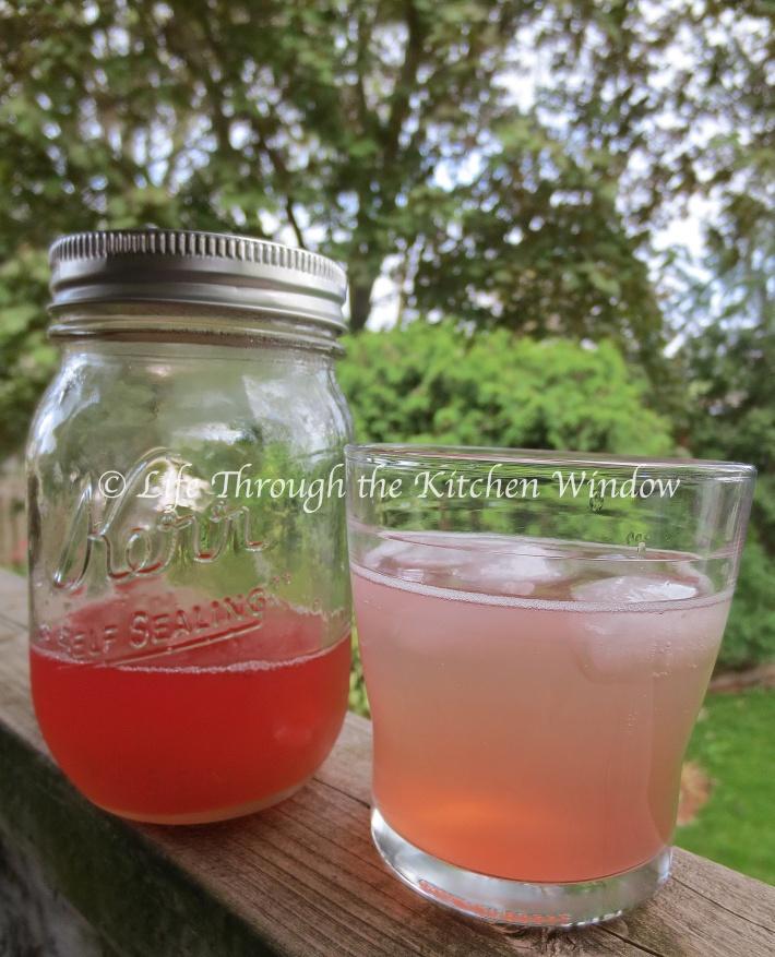 Rhubarb G Rhubarb Syrup | Down the Hatch | Pinterest