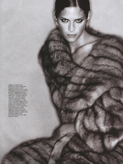 Sexy sable fur Coat