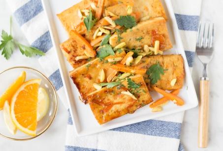 citrus roasted tofu | savory dishes | Pinterest