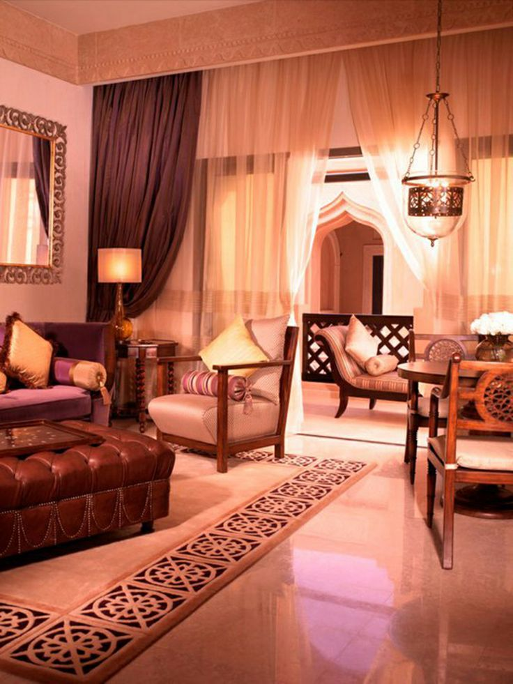 Colorful arabian living room design room design ideas for Arabic living room decoration