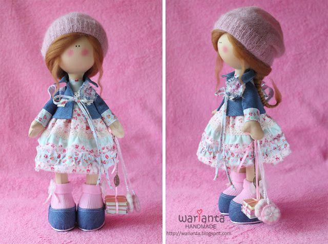 Куклы и игрушки ручной работы. warianta handmade.