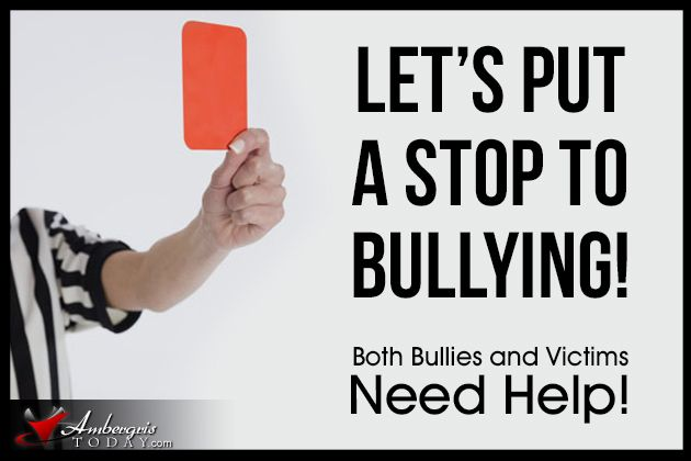 Feedback on essay for English class on how to stop a bully?