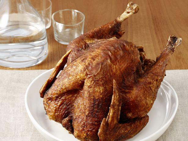 Deep-Fried Turkey Recipe : Cat Cora : Food Network - FoodNetwork.com