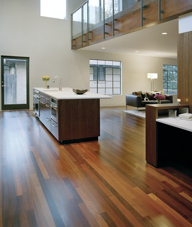 Brazilian Walnut Ipe Hardwood Floors 645 x 760