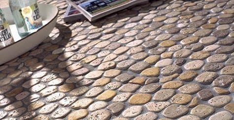 Con estilo piedras decorativas: Piedras de Rio en tu Jardín