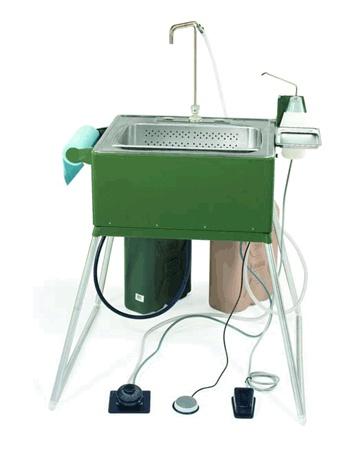 Portable Utility Sink : Portable Scrub sink Camping Pinterest