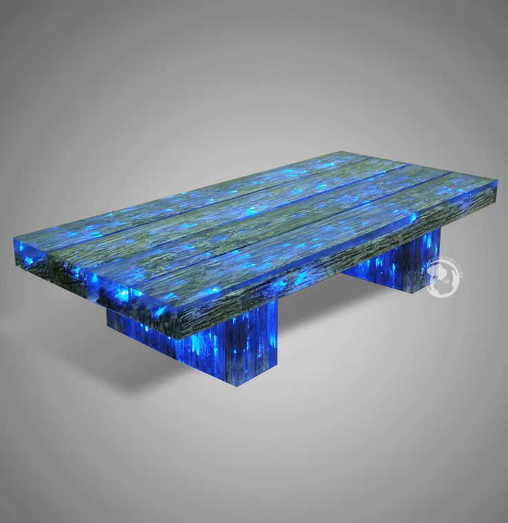 Lighted Coffee Table Furniture Modern Contemporary Pinterest