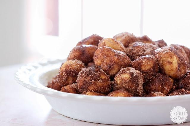 Year of Yeast: Cinnamon Bun Bites | Inspired by Charm