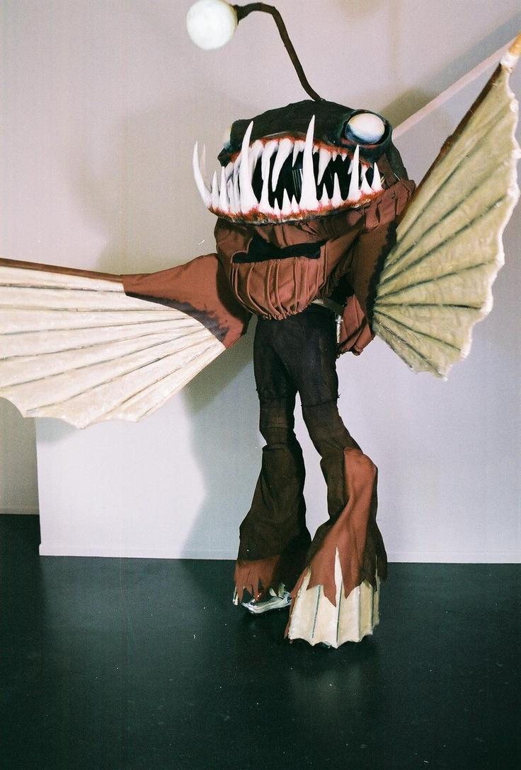 Pinterest for Angler fish costume