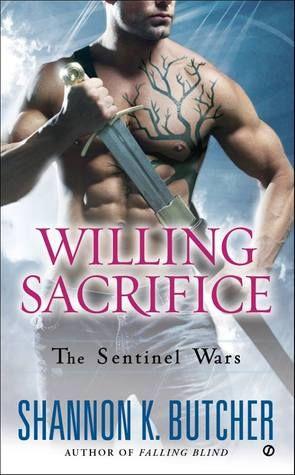 Willing Sacrifice by Shannon K. Butcher | Sentinal Wars, BK#8 | Publisher: Signet | Publication Date: March 4, 2014 | www.shannonkbutcher.com | #Paranormal