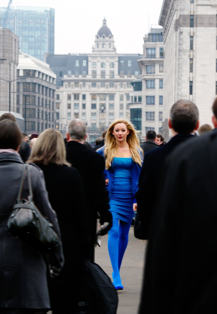 London Colour - Fashion photograph by Anoushka Probyn