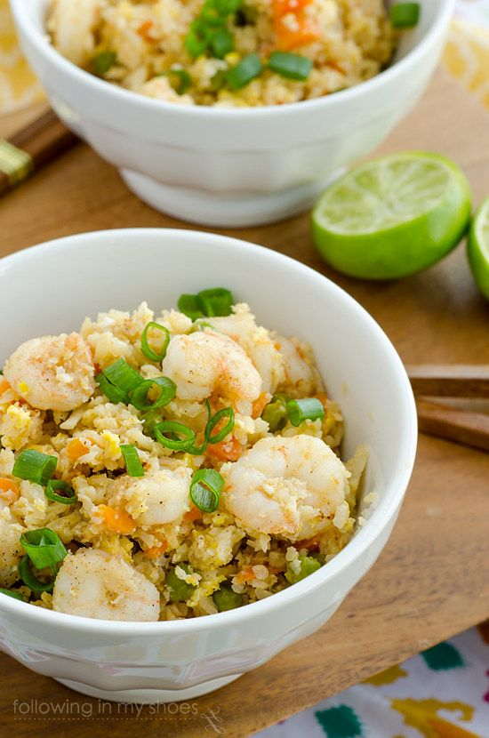 Spicy Shrimp Fried Rice #GrainFree | Interesting Dishes to Try | Pint ...