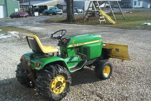 John Deere 400 Garden Tractor Attachments : John deere garden tractor car interior design