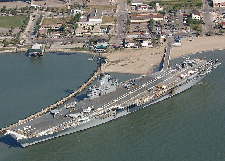 LEXINGTON - aircraft carrier, permanently harbored in Corpus ...