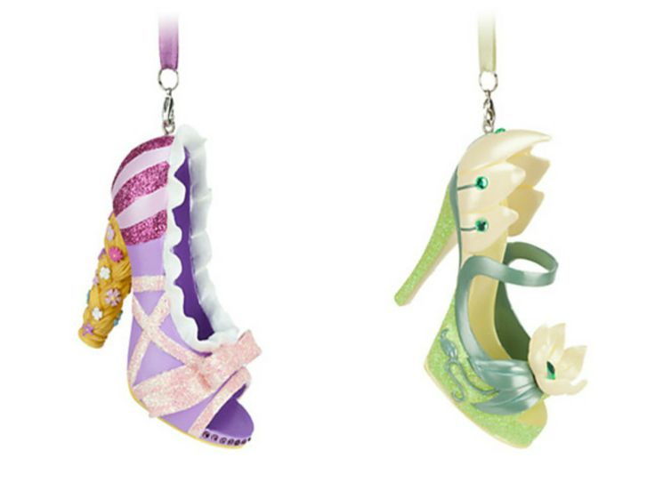 These Shoe Ornaments Are Perfect For Brides And Bridesmaids Alike Disney W