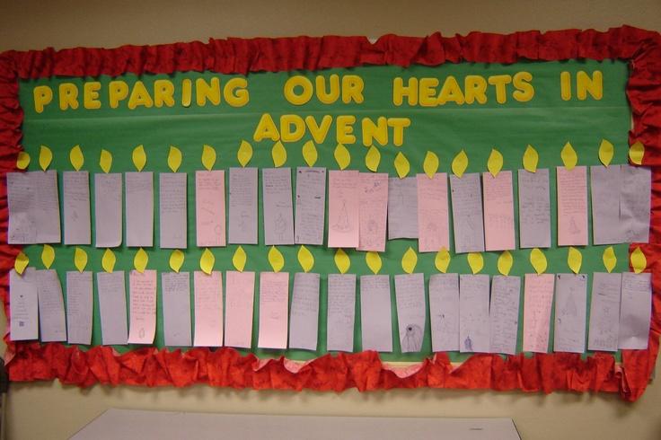 Advent Calendar Bulletin Board : Church bulletin ideas party invitations