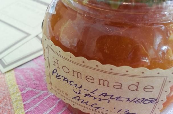 Must-Try Preserves Recipe: Peach Lavender Jam