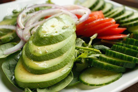 Avocado Salad with Citrus Vinaigrette | Recipe