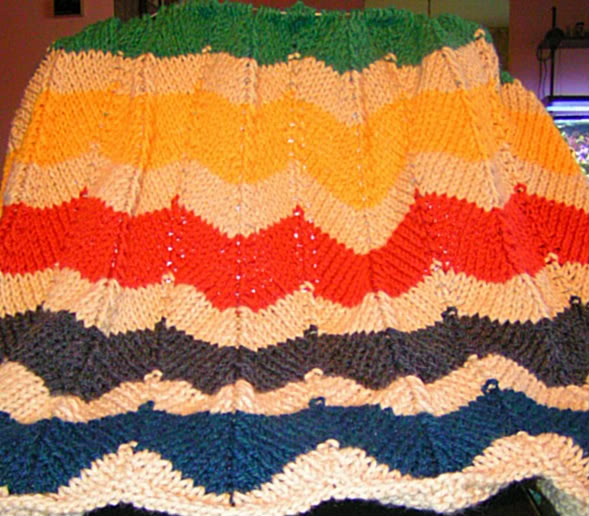 Free Knitted Afghan Patterns On Pinterest : afghan knit pattern Knitting... Pinterest