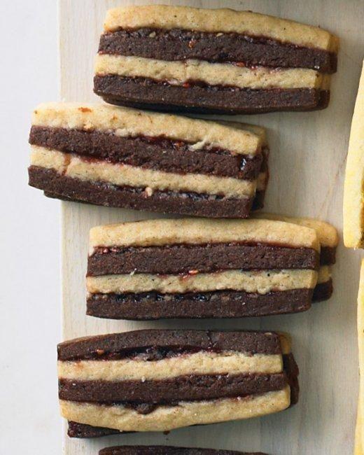 Chocolate-Pecan Layered Icebox Cookies | Recipe