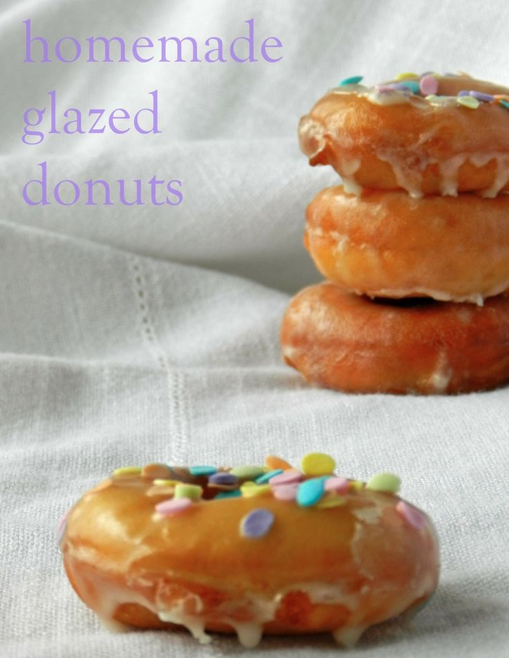 Homemade Glazed Donuts - perfect for brunch or a summer afternoon!