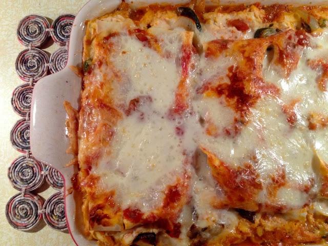 Roasted Vegetable Lasagna | DIY BOARDS | Pinterest