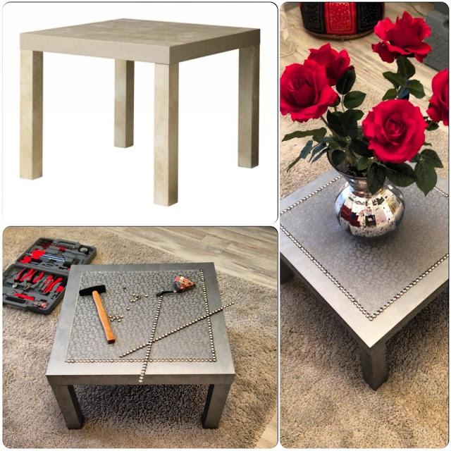 Silver coffee LACK table   IKEA Hackers