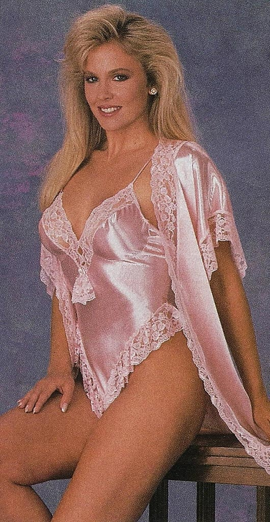 Satin teddy lingerie
