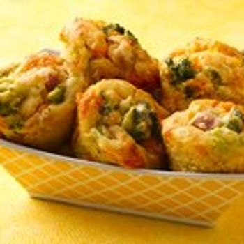 ... Broccoli, Cheese and Ham Muffins | Sweet Breads, Muffins and Sco