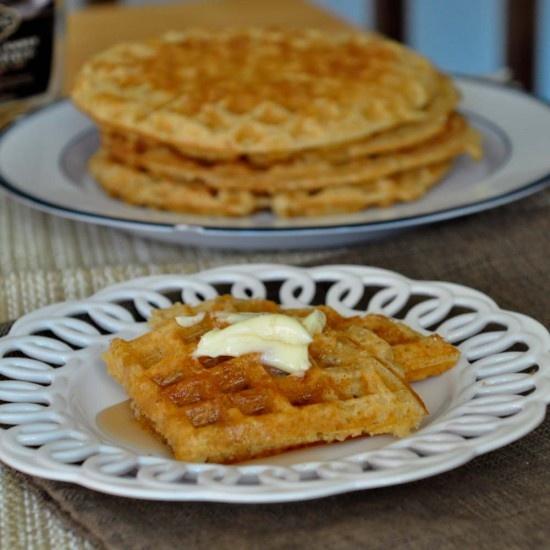 Whole Grain Waffles | Breakfast | Pinterest