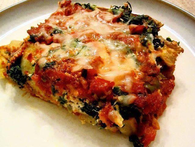 gluten free low carb lasagna   Favorite Recipes   Pinterest