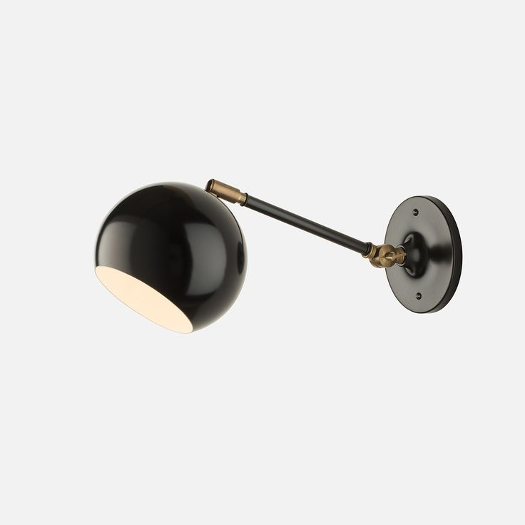 Wall Sconce With Long Arm : Isaac Sconce - Long Arm lights Pinterest