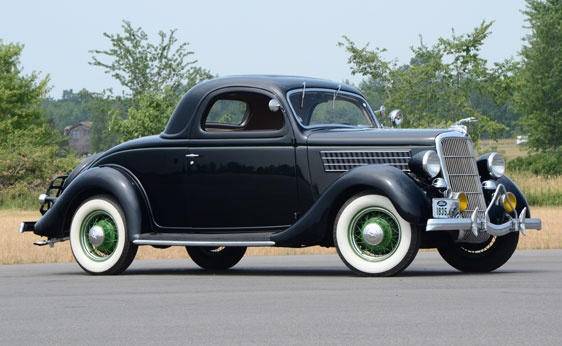 1935 ford model 48 three window coupe for 1935 3 window coupe