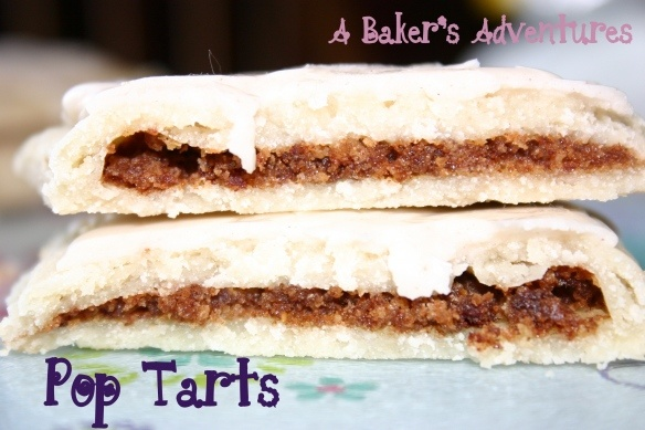 Brown Sugar Cinnamon Pop Tarts...homemade