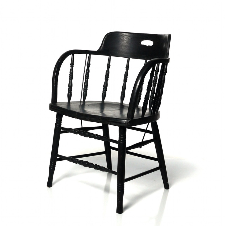 Having my captain s chairs painted black for the dining room