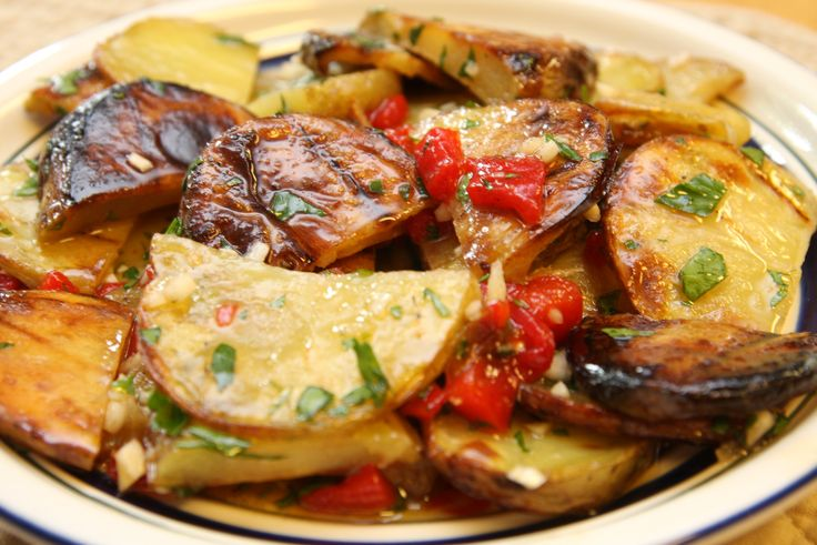 Cooks Country Grilled Potato Salad | vEggie SideS | Pinterest