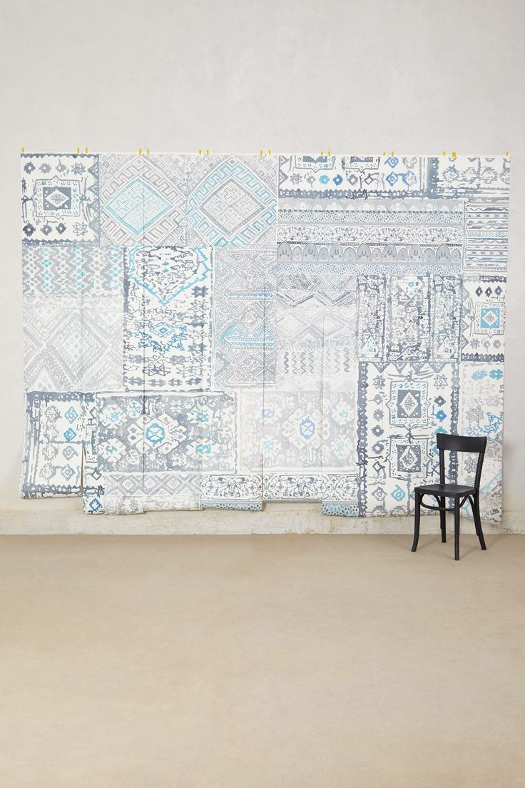 Grand bazaar mural interiors pinterest for Anthropologie etched arcadia mural