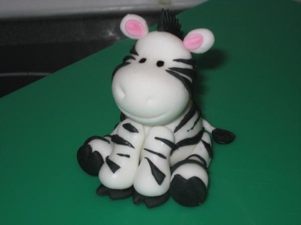 fondant zebra tutorial