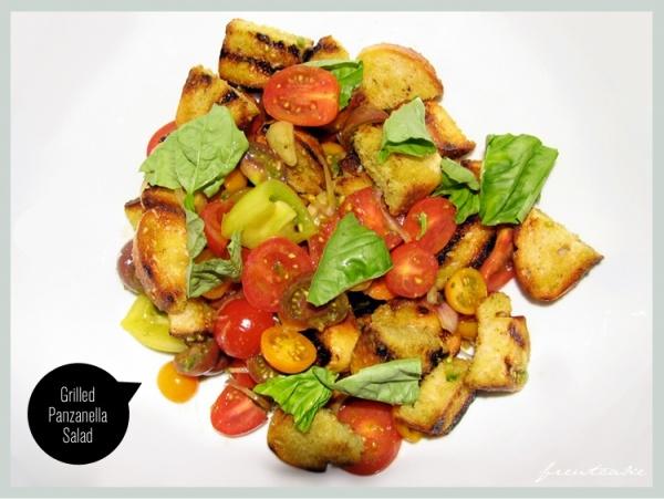 Grilled Panzanella Salad | Food | Pinterest
