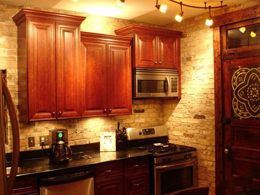 Reclaimed Chicago Brick Tile SAMPLES Kitchen Pinterest
