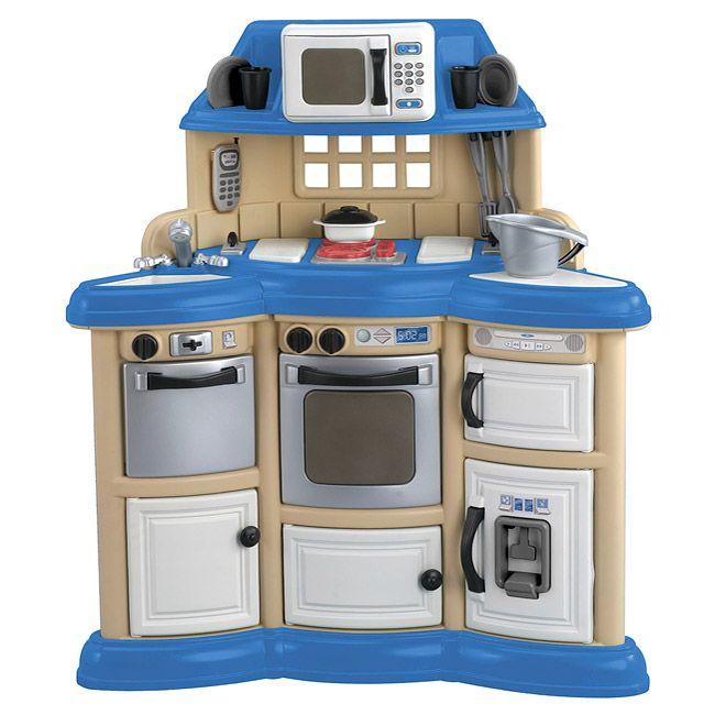 American plastic toys children 39 s kitchen play set Realistic play kitchen
