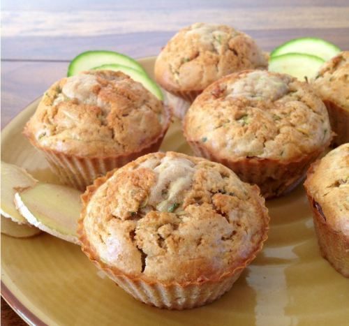 Zucchini Ginger Muffins | cupcakes | Pinterest