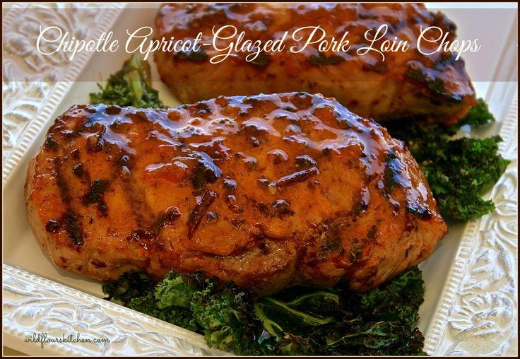 chipotle apricot pork chops | make food taste good | Pinterest