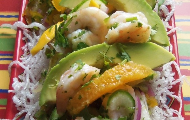 Tropical Shrimp Ceviche | Seafood Amore! | Pinterest