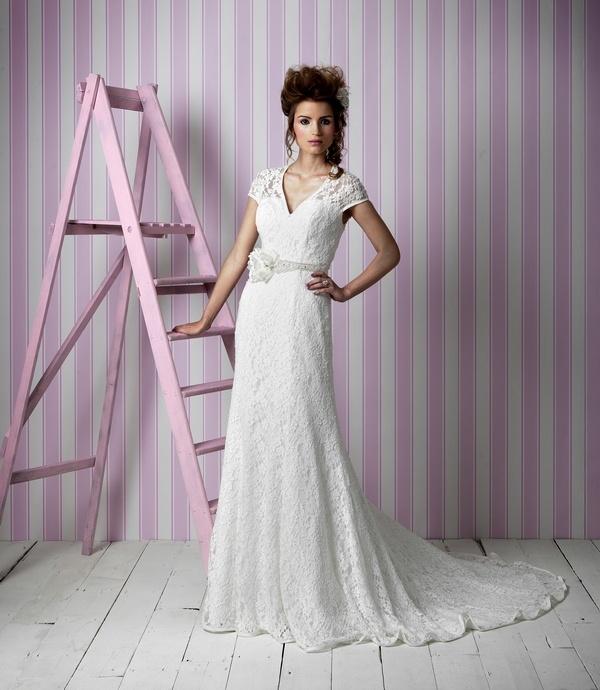 Zara Wedding Dress Charlotte Balbier 12